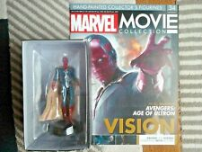 Colección de película Marvel visión 34 EAGLEMOSS Figura Los Vengadores Edad de Ultron