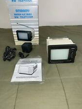 Embassy Handy 4.5� Mini B/W Television *Rare - Brand New Condition*