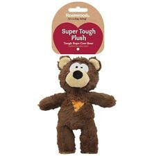 Rosewood Tough Plush Knot Rope Core Teddy Bear Dog Squeaky Toy 39036