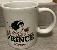 MUG MESSAGE BLANCHE NEIGE / Snow White Disneyland Paris