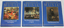 Oxford Heritage of Music 3 Volume Set -An Encyclopedic History of Western Music