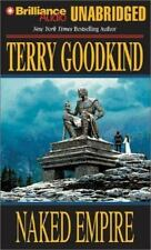 NAKED EMPIRE unabridged audio book on Cassette by TERRY GOODKIND - Brand New!