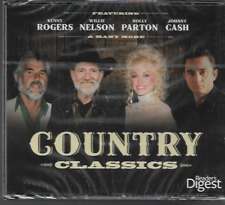 READERS DIGEST COUNTRY CLASSICS 5 CD BOXSET ROGERS/CASH/PARTON/NELSON NEW/SEALED