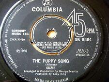 """SUZIE - THE PUPPY SONG  7"""" VINYL"""