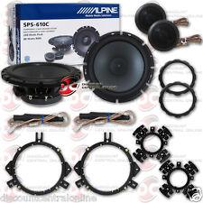 "ALPINE SPS-610C 6.5"" 2-WAY CAR AUDIO COMPONENT SPEAKERS SYSTEM (PAIR)"