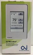 Oj Microline Touch Screen Programmable Thermostat W/ Gfci Udg4-4999