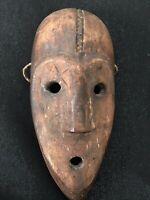 Alte kleine Maske Kongo Afrika Bantu Kunst