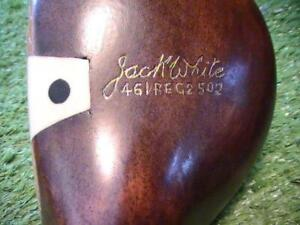 Antique Vintage Jack White ULTRA RARE 4 Wood PROFESSIONALY Restored Wood Shaft !