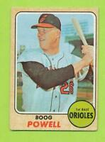 1968 Topps - Boog Powell (#381)  Baltimore Orioles    1970 AL MVP