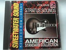 KURZWEIL ~ Sweetwater Sound ~ American Standard vol.2 ~ Original K2000 Cd-Rom!