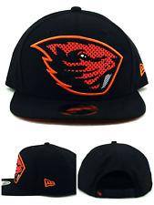 newest collection 3ec8d a5ec9 Oregon State Beavers New Era 9Fifty XL Logo Benny Black Orange Snapback Hat  Cap