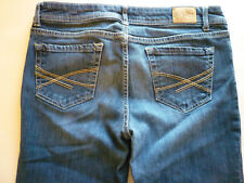 Aeropostate womens 9 10 regular chelsea low rise boot cut denim blue jeans