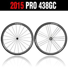 BladeX 438GC - PRO ROAD CARBON BIKE WHEELSET CLINCHER; Ceramic Bearings; Wider;