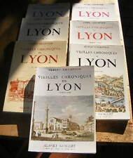 Albert Champdor Vieilles Chroniques de Lyon Ed. Guillot 1974-1980 Sept volumes