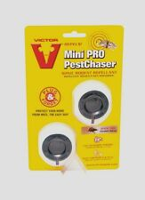 *2pk* VICTOR Mini Pro Sonic Pest Chaser Mice Rats Plug In Rodent Repellent M752P