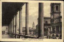 FAENZA Loggiato Palazzo Manfredi Italien Italia AK Cartolina Italiana ~1930