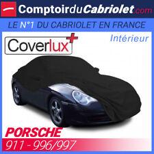 Housse / Bâche protection COVERLUX Porsche 911 996/997 en Jersey couleur noire