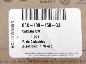 Genuine OEM Volkswagen 06K-109-158-BJ Timing Chain