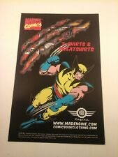 2005 Print Ad - MARVEL COMICS T-SHIRTS & SWEATSHIRTS - WOLVERINE - MAD ENGINE
