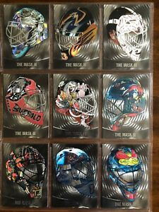 2002/03 Between the Pipes Masks II SET 1-30 SILVER /300 COMPLET WOW! SUPER RARE!
