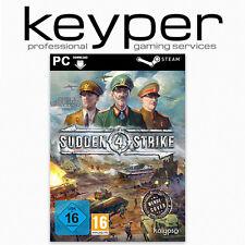Sudden Strike 4 IV + Kursk DLC Steam Key [Deutsch/Multi] Download Code PC NEU