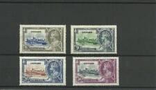 CEYLON SG379-382 1935 SILVER JUBILEE SET MOUNTED MINT