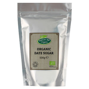 Organic Date Sugar 500g Certified Organic