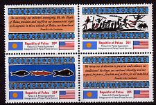 Palau 1-4 **, Postalische Unabhängigkeit