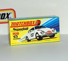 HIGH QUALITY CODE 3 BOX FOR EARLY SUPERFAST WHITE VOLKSWAGEN 1500 - FREE UK POST