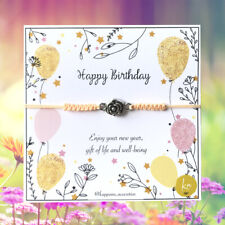 Birthday Girl Bracelet Adjustable Love Handmade Gift Women Charm Jewerly HB