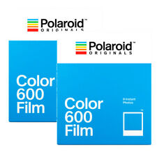 2x Polaroid Originals Sofortbildfilm Color 600 für alle Polaroid 600 Kameras **