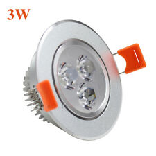 AC85-265V DC12V  New Dimmable 3W 5W LED Recessed Ceiling Down Light Bulb Lamp