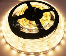 5m LED SMD 5630 Warm White Flexible Fairy Lights Strips Interior Household 12VDC