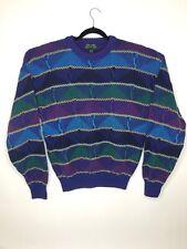 Vintage Colours by Alexander Julian Knit Men's Sweater Size Large 100% Cotton