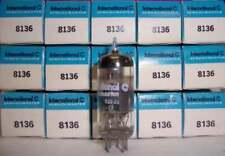SLEEVE OF 5 NEW IN BOX INTERNATIONAL 8136 / 6DK6 PENTODE TUBES / VALVES