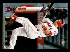 2020 Topps Chrome Refractor #1 Mike Trout Angels HOT (ref 72115)