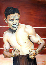 Harry Greb by David Putland - A3 Limited edition Prints - Boxing Art