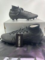 Men Nike Mercurial Superfly 7 Elite FG Soccer Cleats Black AQ4174-001 Size 9.5