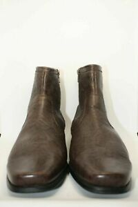 Rockport Adiprene By Adidas Mens Size 14M Brown Leather Side Zip Ankle Boots NEW