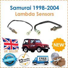 PARA SUZUKI SAMURAI 1988-2004 DELANTERO Y TRASERO 02 Sensor Lambda NUEVO