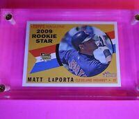 2009 Topps Heritage HIgh Number Series SP #710 Star ROOKIE Matt LaPorta