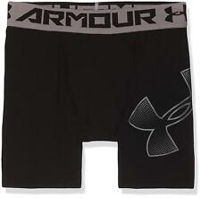 Under Armour UA Kid's Boys Heatgear Shorts BNWT Size YXL+YLG Black/White