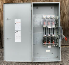 Dtnf325 Siemens 400 Amp 240v 3 Pole Non Fused Manual Transfer Switch New