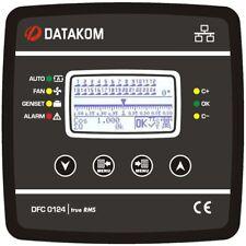 DATAKOM DFC-0124 Power Factor Controller, 128x64 B&W display,144x144mm, 24steps_
