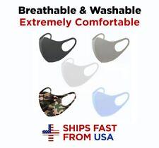 5PCS Face Mask MIXED Colors Reusable Washable Fabric Cloth Men Women (5-Pack)