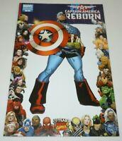 Captain America Reborn #2 Comic Marvel VARIANT 70th Anniversary Frame 1st Print