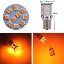 2x 21W Car Front Rear Turn Signal Light BAU15S LED Bulbs For Acura Honda Toyota