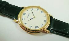 Lassale by Seiko Gold Tone Metal 7N00-7D80 Calfskin Sample Watch NON-WORKING