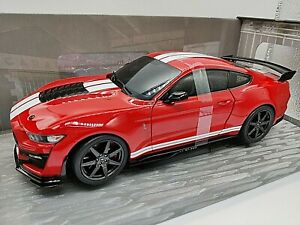VOITURE SOLIDO FORD MUSTANG SHELBY GT 500 ROUGE FAST TRACK 1:18 NEUF BOITE