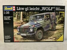 Revell Germany Mercedes LKw GL Wolf 4x4 Short Wheelbase Army Truck 1:35